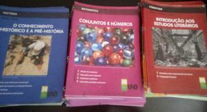 Vendo livro escolares UNO usado 2°ano ensino medio