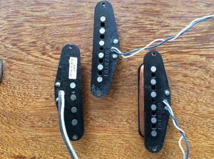 Set Captadores Stratocaster Fender e Seymour Duncan