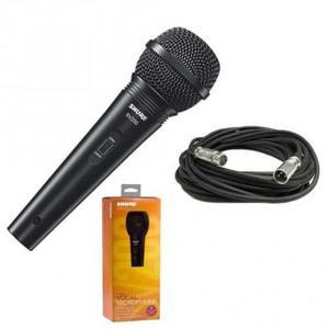 Sv200 Microfone Dinamico Shure Original Com Cabo Sv-200