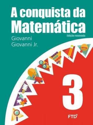 A Conquista da Matemática - 3º Ano, usado e respondido