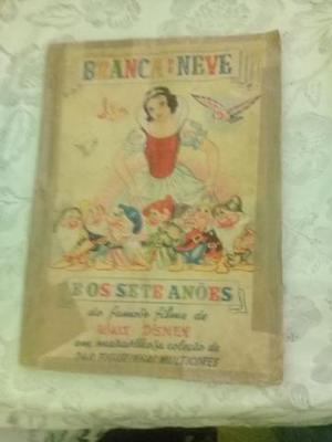 Album Branca De Neve E Os Sete Anões 1958