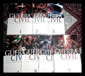 Guerra Civil - Minissérie Completa Em 7 Edições