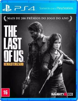 Jogo The Last of Us Remastered PS4 Novo e Lacrado