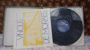 LP Vinicius de Moraes Álbum com 4 discos