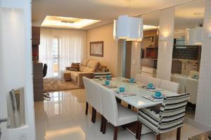 Lindo apartamento com 2 suítes e lavabo, 1 vaga e Lazer,