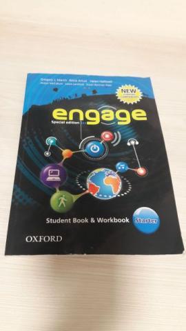 Livro De Inglês - Engage Starter - Student Book & Workbook