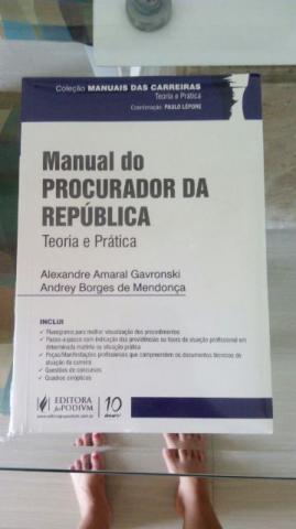 Livro Manual do Procurador da Republica Lacrado