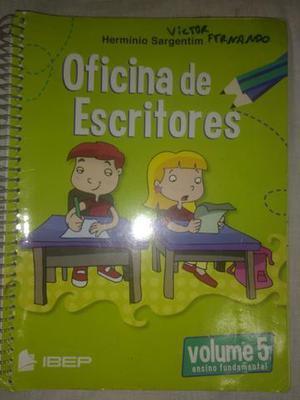 Livro Oficina de escritores- 5o Ano Escola adventista
