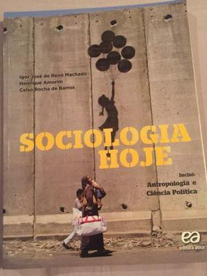 Livro Sociologia Ens.Médio + apostilas PAS e ENEM