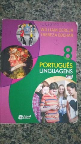 Livro de Português - Linguagens 8 ano