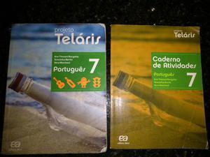 Livros 7 ano Teláris Português e Ciências R$ 120.00