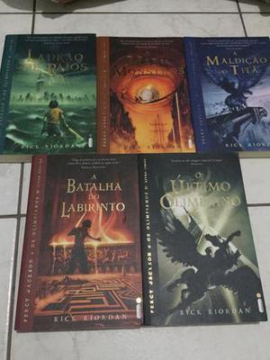Livros - Percy Jackson
