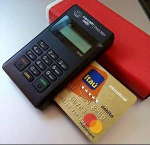 Maquininha de cartão de crédito Nova Lacrada