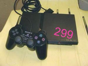 Playstation 2 Slim Desbloqueado + 5 Jogos + Garantia