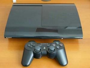 Playstation 3 super slim 250GB +1 controle + jogos em otimo