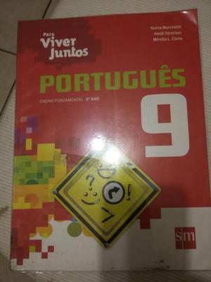 Português e matemática 9º ano 50,00 cada