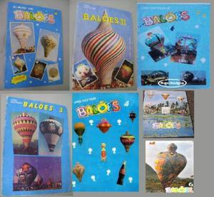 Album de Balão, Albuns de Balões
