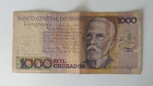 Notas antigas de dinheiro