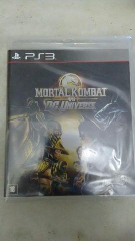 Jogo de PS3 - MK vs DC Universe
