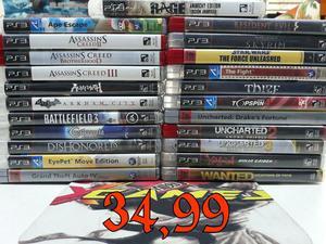 Jogos originais Xbox 360 e Ps3 a partir de 9,90