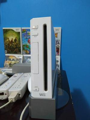 Nintendo Wii com acessórios e jogos originais