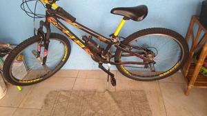 Bicicleta toda Shimano aros de alumínio Nota fiscal