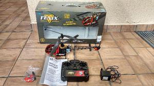 Helicóptero de radio controle de 3 canais Fênix H-18