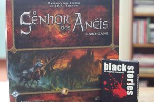 Senhor dos Anéis Card Game + Black Stories