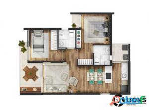 Lançamento na Vila Madalena 60 e 70m² - 02 dormitórios