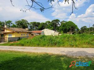 Terreno de esquina, limpo, no Palmeiras, 430m da praia