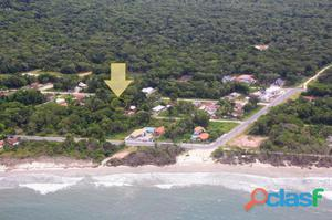 Terreno face leste no Rosa dos Ventos, 250m da praia