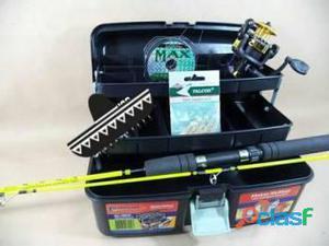 kit de Pesca Vara + Molinete Linha Oferta