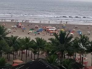 Apartamento com 2 dorms, Canto do Forte, Praia Grande - R$
