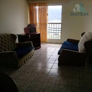 Apartamento residencial para locação, Enseada, Guarujá.