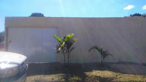 Casa 2 quartos ampla com area proximo a BR153 e centro de