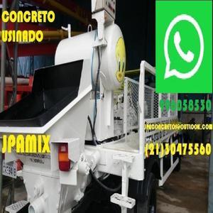 Concreto Bombeado Caminhão Betoneira Bangu Realengo