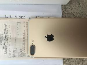IPhone 7 Plus 32gb Gold zero na caixa 5 meses de uso