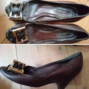 Lote de sapatos Arezzo/Tuin/ Via Uno