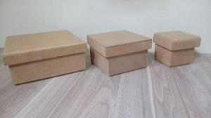 Artesanato - 73 caixas mdf - p/m/g