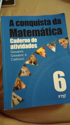 Caderno de atividades a conquista da matemática