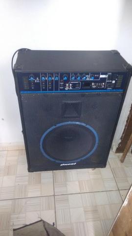 Caixa De Som Amplificada R$630