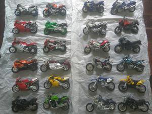 Coleção completa miniaturas Motos Inesquecíveis
