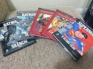 Coleção os Vingadores 5 Volumes Novos e Encadernados