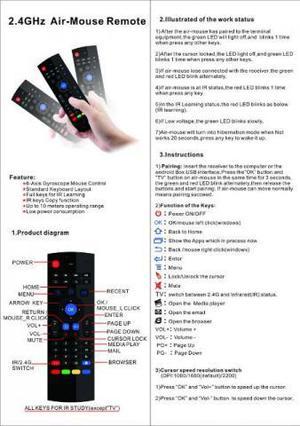 Controle Multifuncional USB (Mouse de alta precisão por