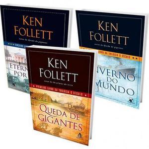 Ken Follett: Trilogia O Século (3 Volumes) - novos