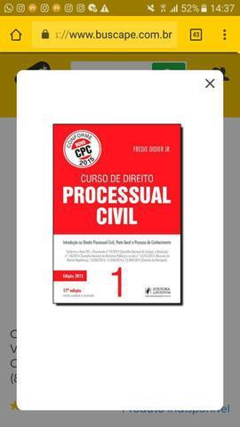 Livro Curso de Direito Processual Civil 1