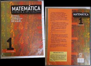 Livro de Matemática, Ciências e Aplicações. 1 ano do