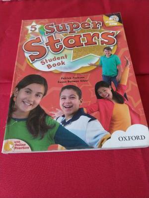 Livro de inglês Super Stars Student Book - 5 ano
