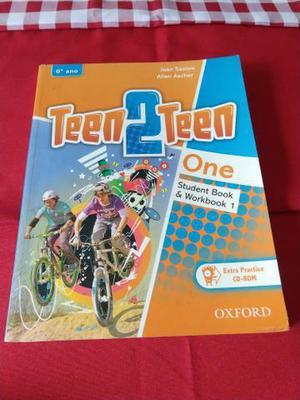 Livro de inglês Teen2Teen one - 6 ano