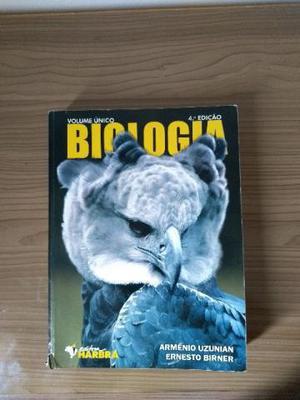 Livro didático de Biologia - Volume Único - editora Harbra